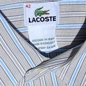 Lacoste Button Down Shirt size 42 Large (Men)